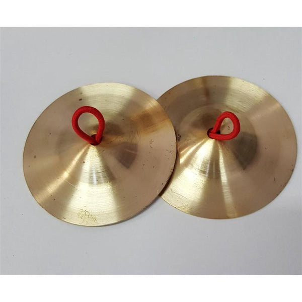 Cymbals With String Handle - 6.5cm