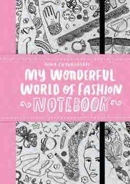 My Wonderful World Of Fashion Notebook P/B. Kids store inner west Sydney. Kids and baby clothing boutique