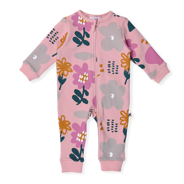 Minti Meadow Onsie - Muted Pink