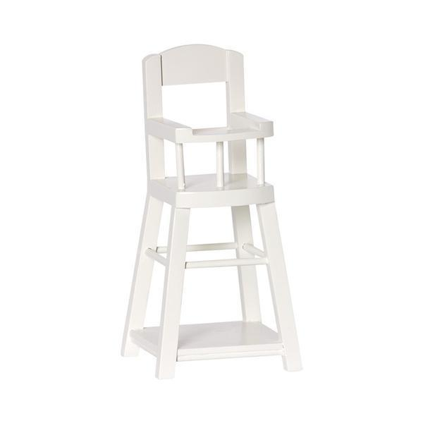 Maileg - High Chair for Micro - White