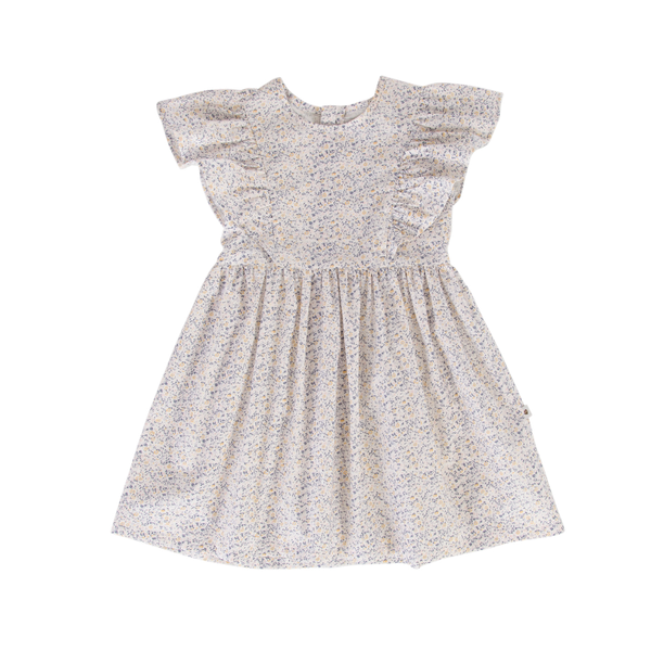 Peggy Marly Dress - Mini Blue Floral