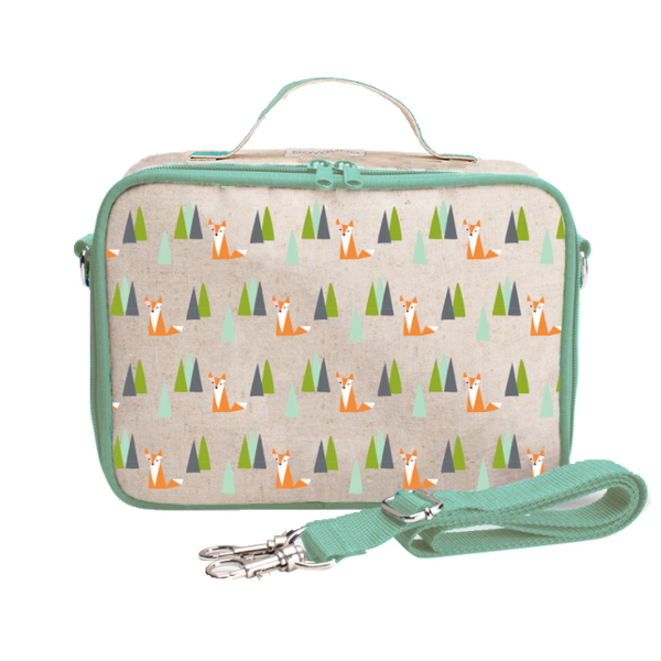 SoYoung Insulated Lunch Box - Olive Fox