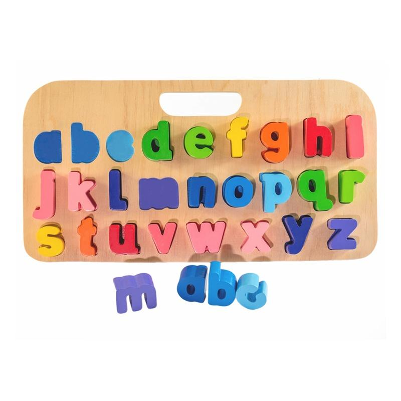 Carry Around Abc Puzzle - Lower Case