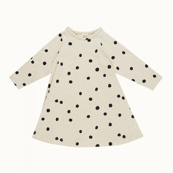 Nature Baby Jersey Swing Dress - Speckle