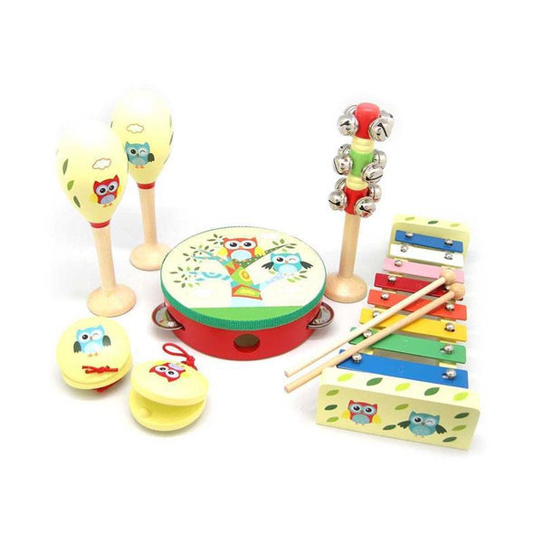 7PC Musical Set - Owl