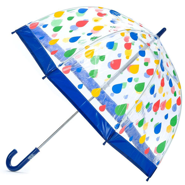 Clifton Birdcage Umbrella - Raindrops