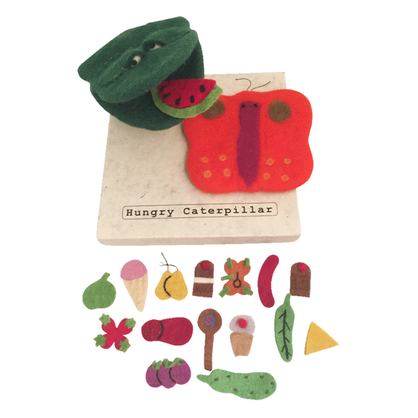 Story Puppet - Hungry Caterpillar