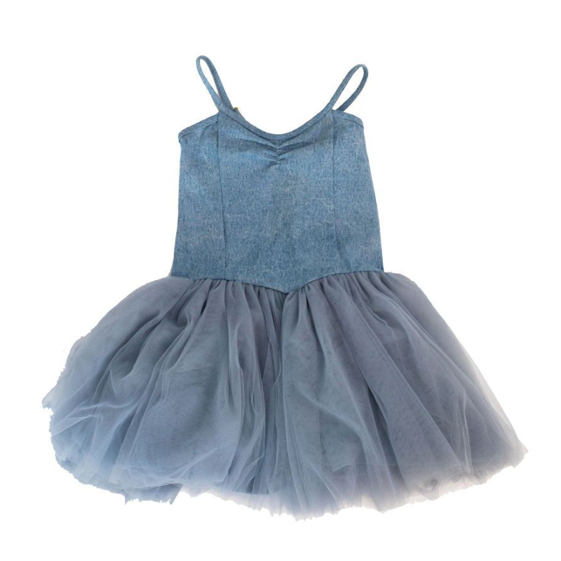 Alex & Ant Sissy Tutu - Denim/Tulle Cloud