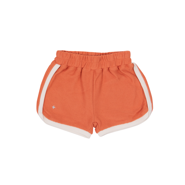Goldie & Ace Sadi Terry Towelling Shorts - Flamingo
