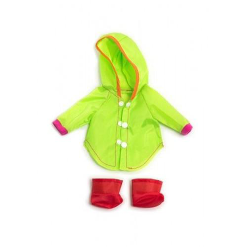 Miniland Clothing - Raincoat And Wellingtons Small