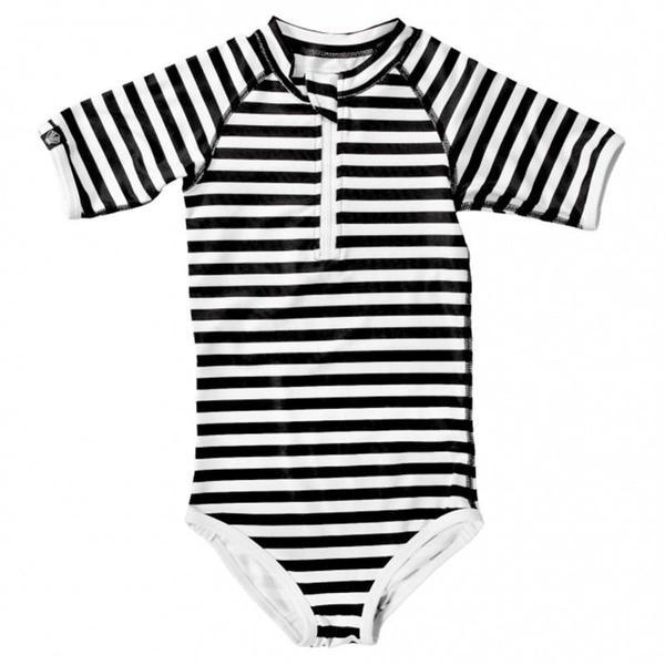 "Beach & Bandits- Stripe One piece ""Bandit Girl"""