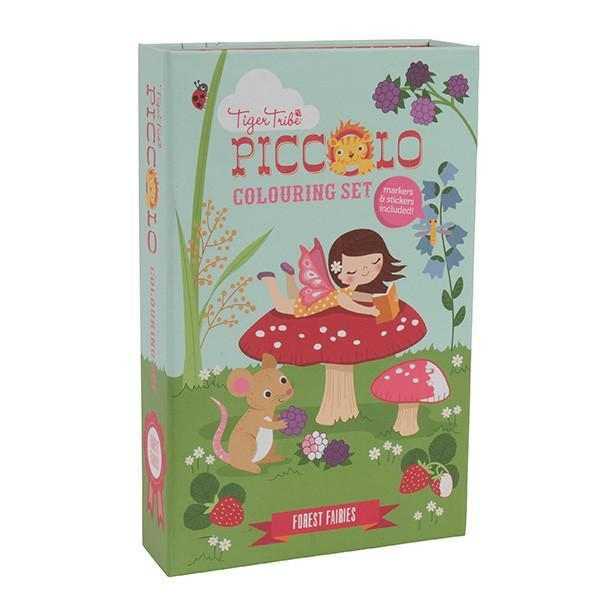 Piccolo Colouring Sets - Forest Fairies