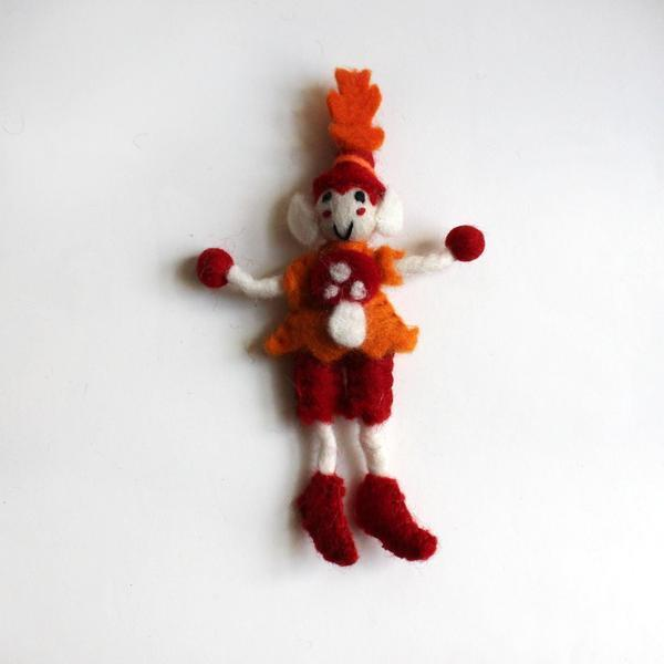Felt Mr Toadstool Elf Small