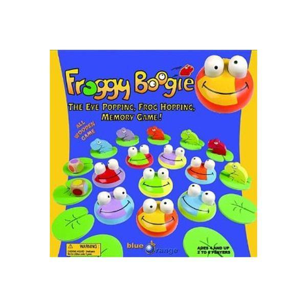 Froggy Boogie Memory Game by Blue Orange games