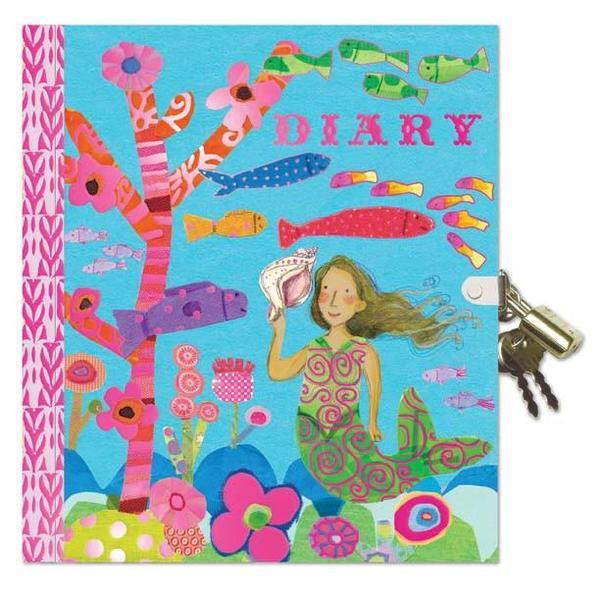 Eeboo Mermaid Locked Diary