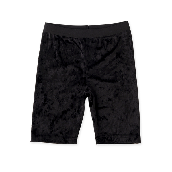 Minti Velvet Bike Pant - Black
