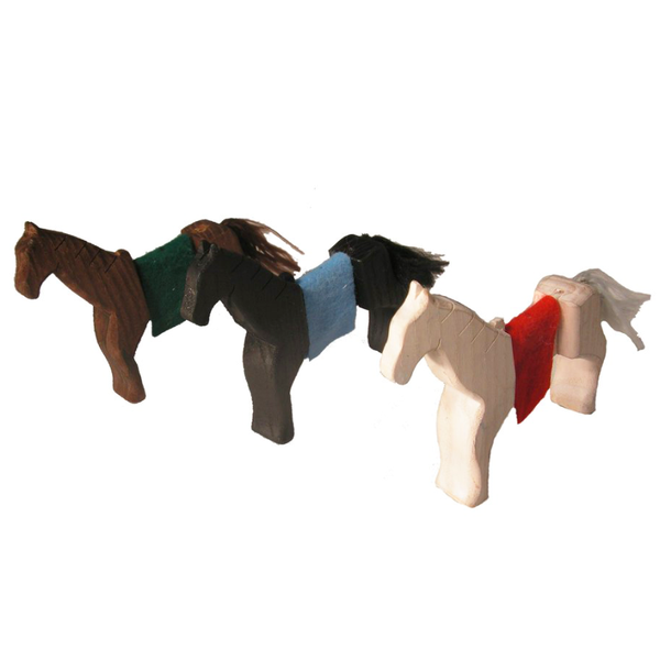 Magic Wood Horse Set