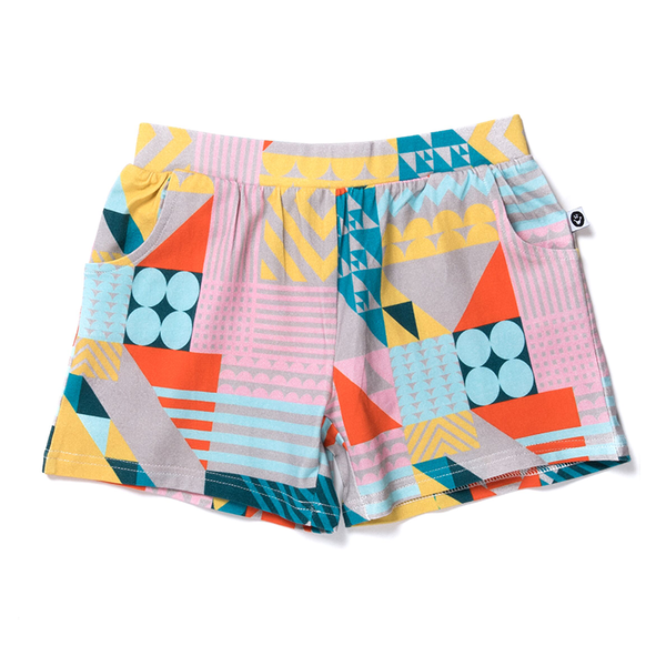Littlehorn Mosaic Short