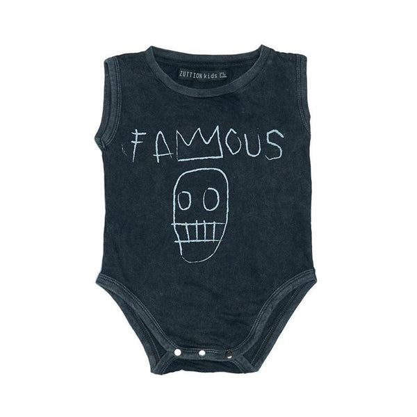 Zuttion Sleeveless Bodysuit - Famous