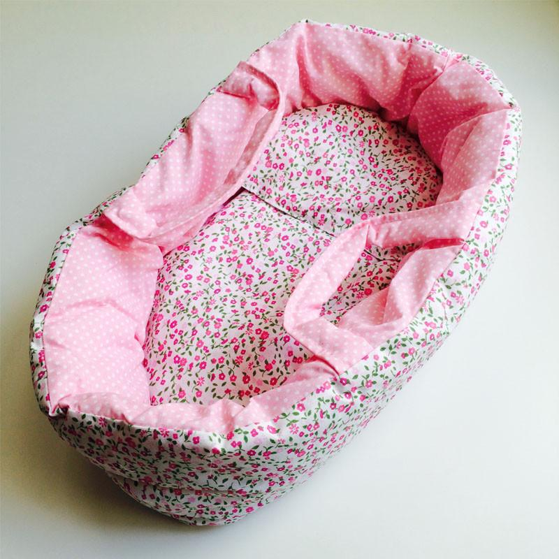 Soft Floral Dolls Carrier Bed by Egmont Small