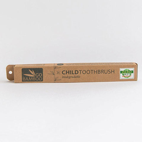 Go Bamboo Childrens Toothbrush