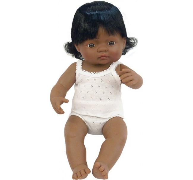Miniland Anatomically Correct Doll - Large Hispanic Girl