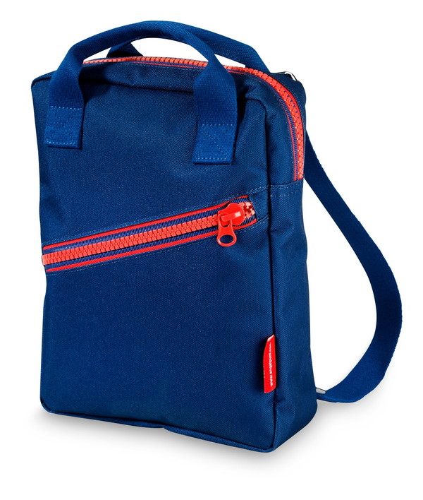 Engel Small Backpack Zip - Navy