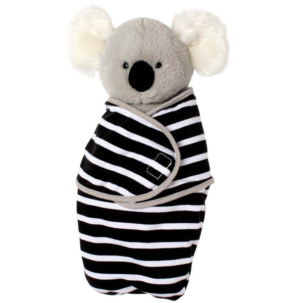 Koala In Swaddle Blanket