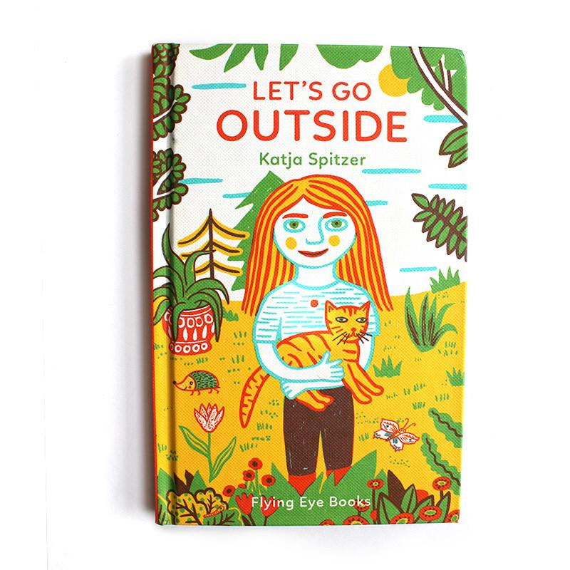 Let's Go Outside - by Katja Spitzer