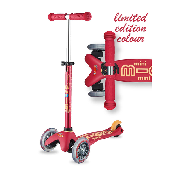 Mini Deluxe Scooter - Ruby Red