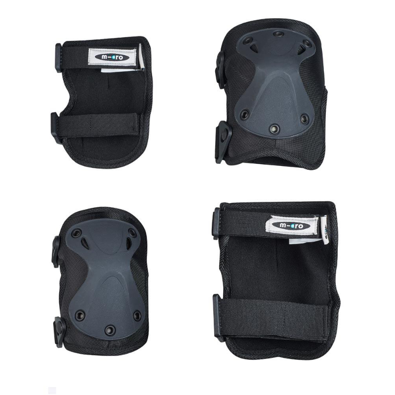 Micro Knee and Elbow Pad - black