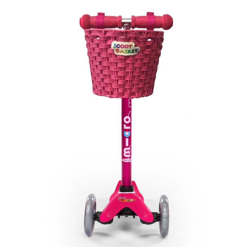 Scoot Basket - Pink