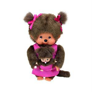 Monchhichi Doll - Mothercare Monchhichi in Pink
