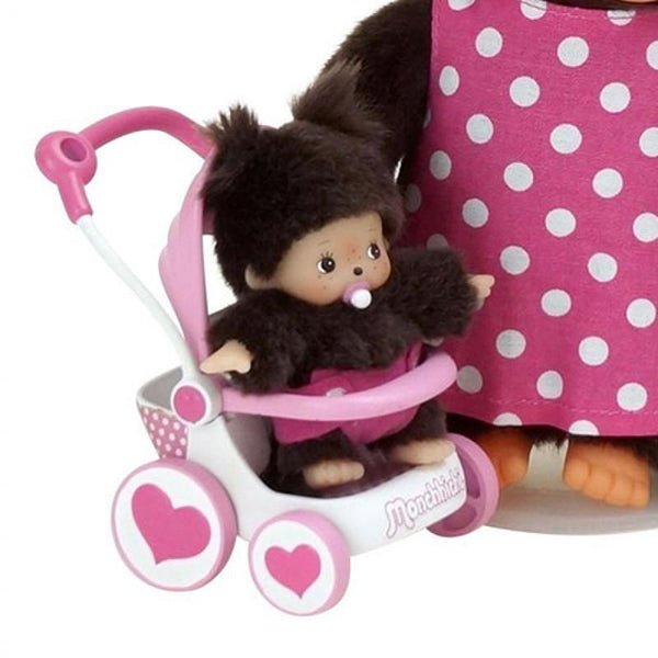 Monchhichi Dolls - Mum and Baby