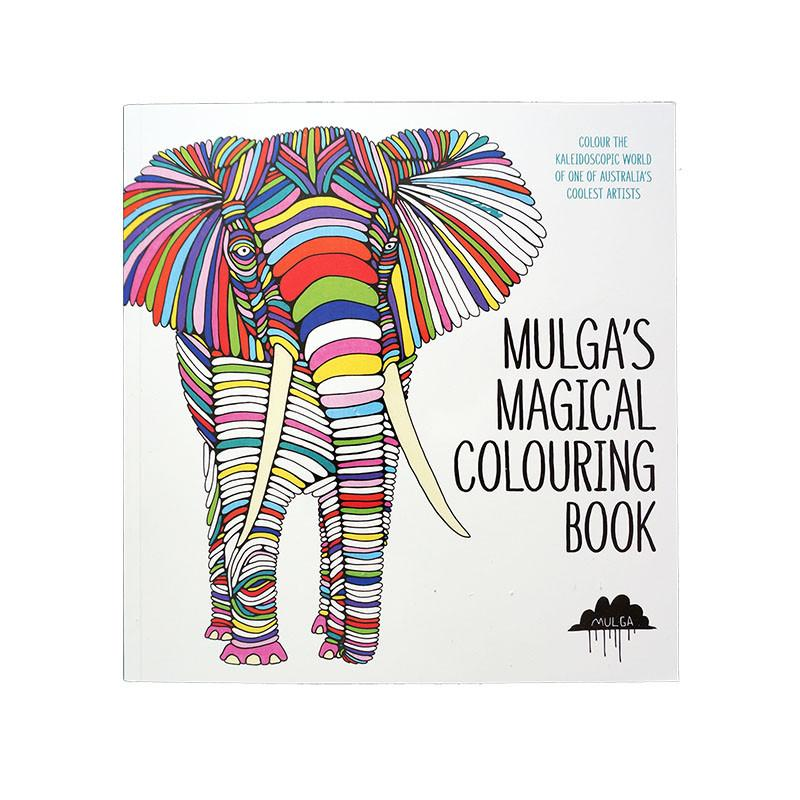 Mulgas Magical Colouring Book