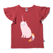 Littlehorn Uni-Cat Tee Cherry