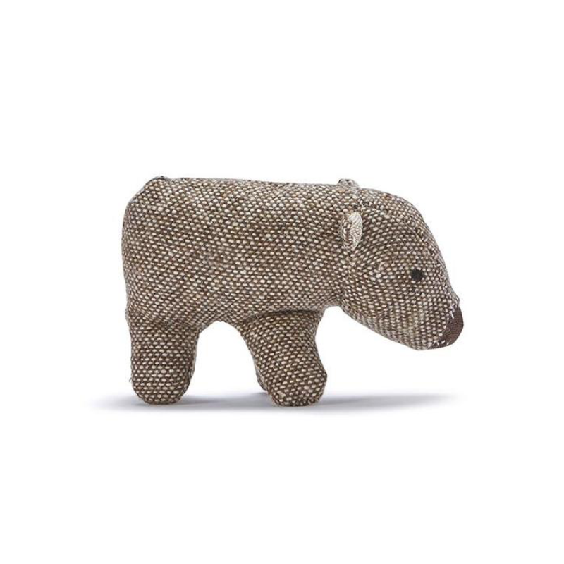Mini Wally Wombat Rattle
