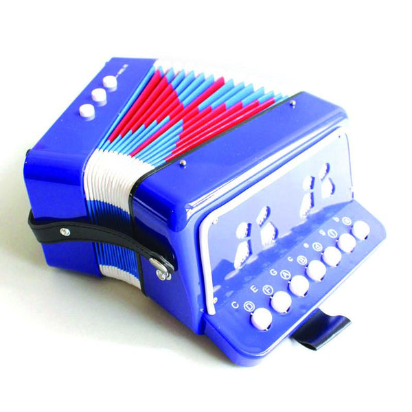 Piano Accordion Blue, at Shorties