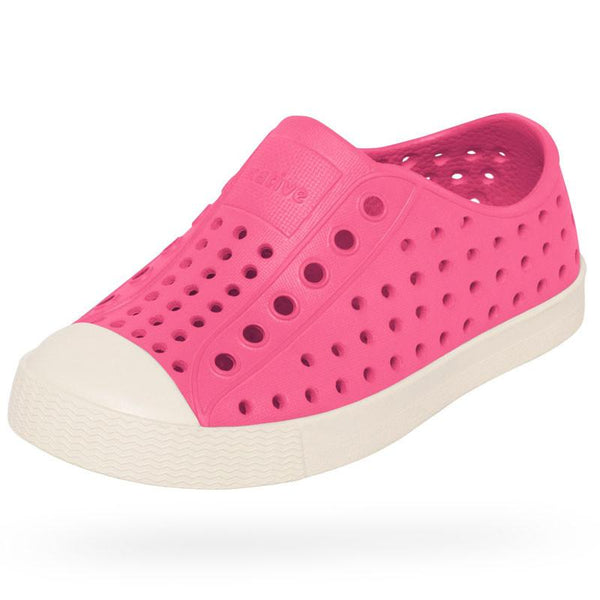 Native Jefferson Shoes - Hollywood Pink at Shorties kids fashion shop in Sydneys inner west