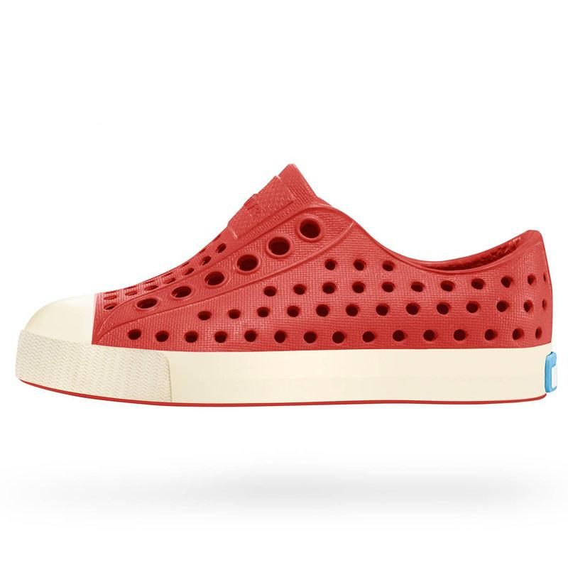 Native Jefferson Shoes - Torch Red at Shorties Kids Fashion Shop in Sydneys inner west