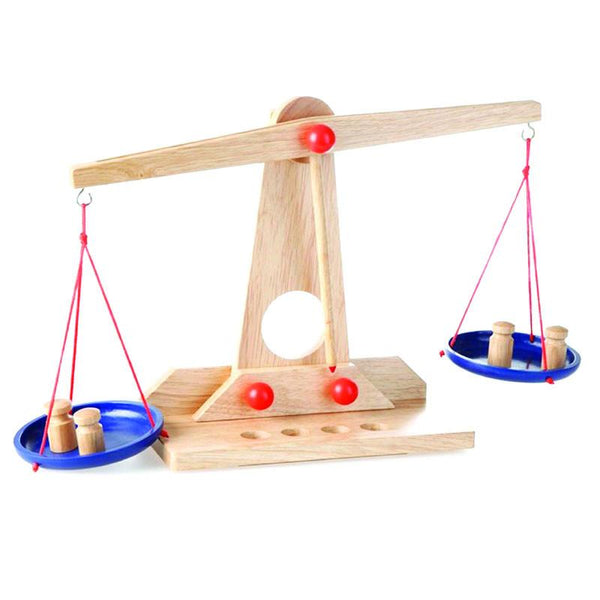 Wooden Scales by Egmont