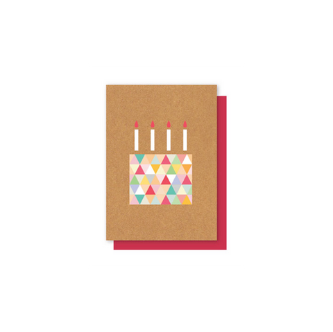 Elly Oak Card - HB Geo Cake