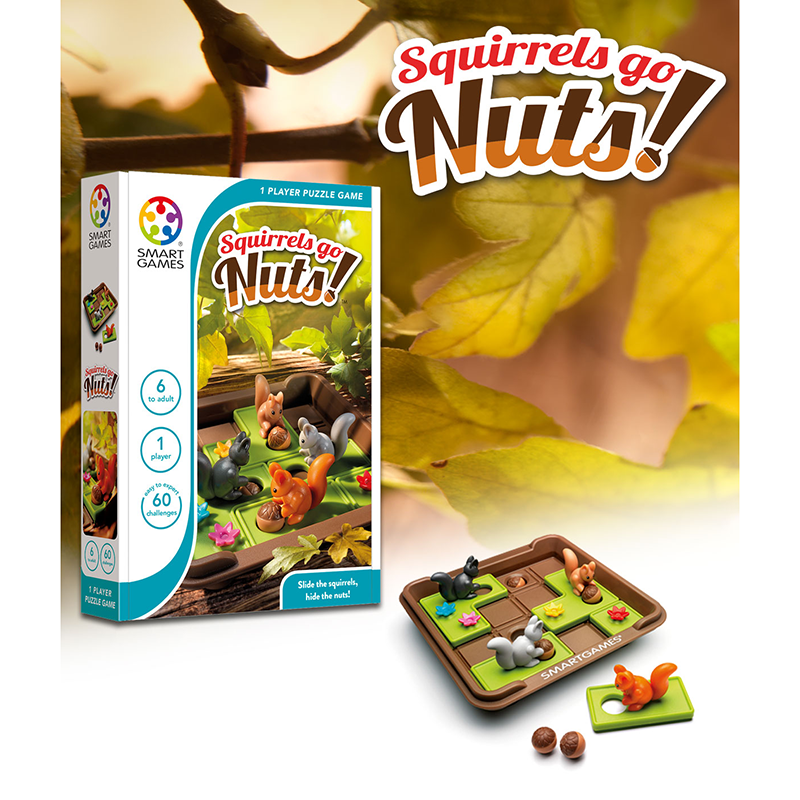 Squirrels Go Nuts by Smart games