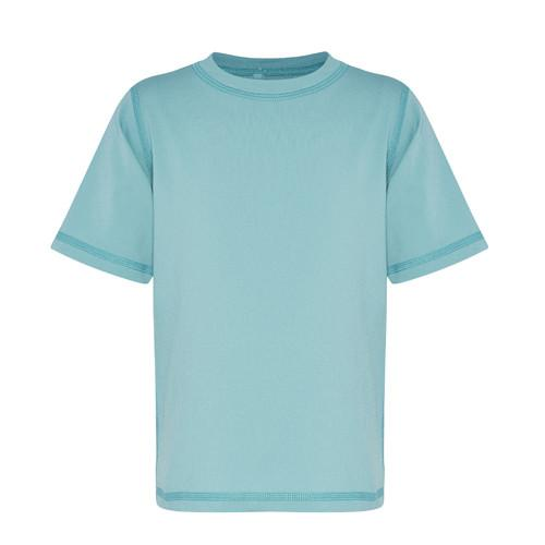 Alfie & Nina -Short Sleeved Rashie in Aqua Sea