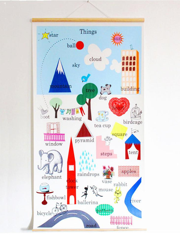 Things Wall Chart