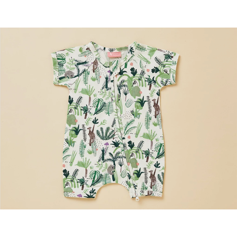Halcyon Nights Summer Sleep Suit - Fern Gully