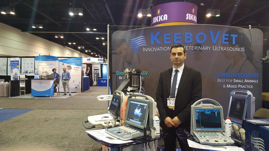 KeeboMed Veterinary Ultrasounds had much to offer at NAVC 2017