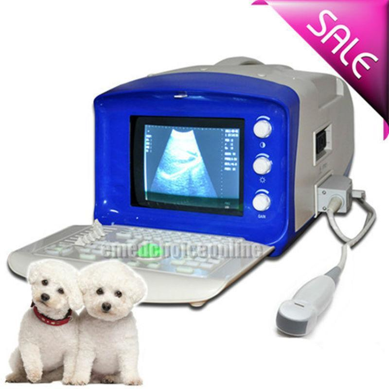 Veterinary Digital Ultrasound Scanner Machine Micro-Convex Probe 3D Free Sale