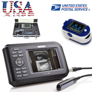 Veterinary Digital Palmtop Ultrasound Scanner Animal Rectal Probe Battery SPO2 190891915115
