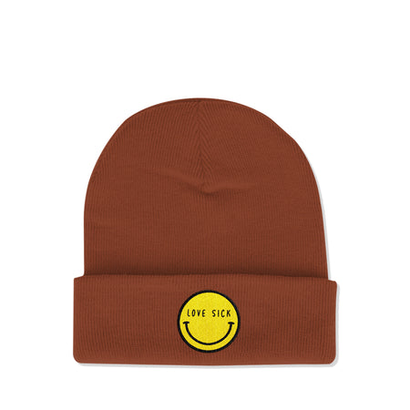 Love Sick Logo Brick Beanie
